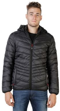 Geographical Norway Pánska bunda Chaplin_hood_man_black