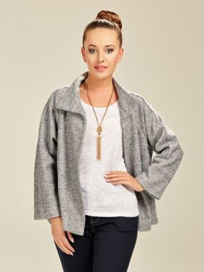 Shoreline by Violana Dámske sako 019 GREY JACKET