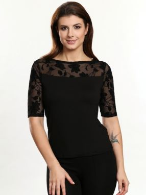 Violana Dámsky top 099 TOP Gracja BLACK