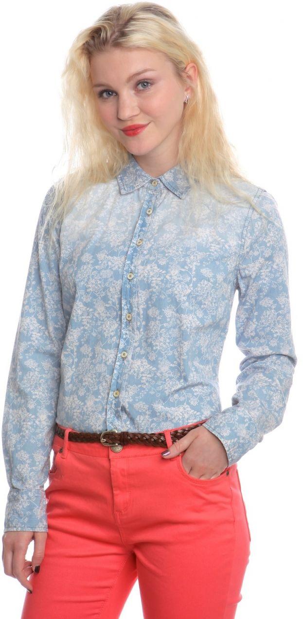 92e1a74150ac Mustang Dámska košeľa 4807 4909 ss15 modrá značky Mustang - Lovely.sk