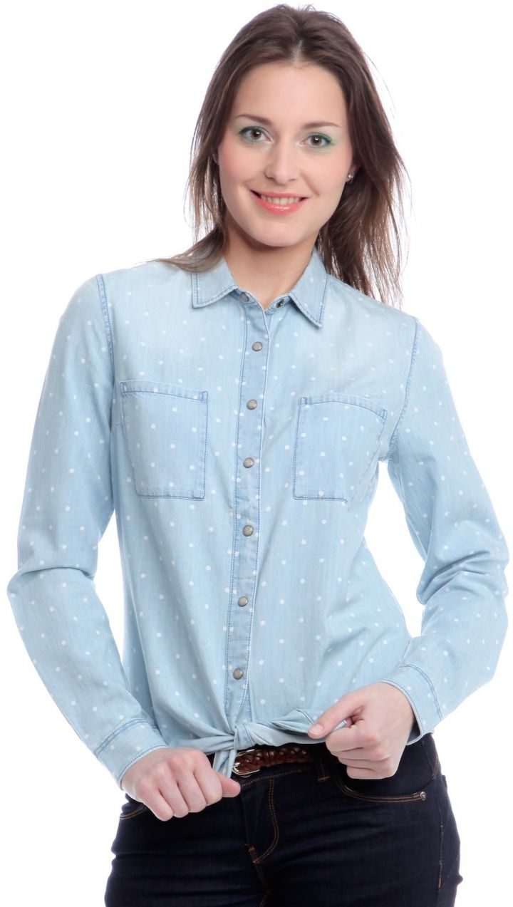 bc7514529ea5 Mustang Dámska košeľa 4793 5374 ss15 svetlo modrá značky Mustang - Lovely.sk