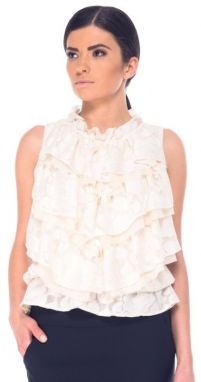 Arefeva Dámsky top T L7056_Off White