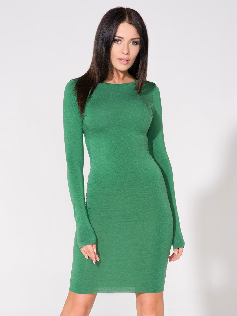 00a640e92b7d Tessita Dámske šaty T140   6 Green značky Tessita - Lovely.sk