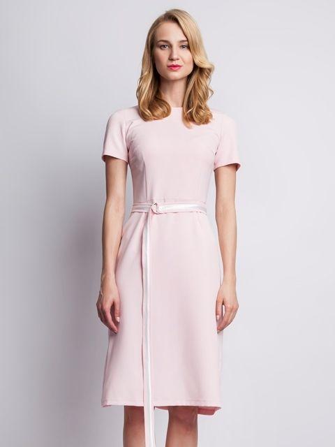 90c239ed9e2d Lanti Dámske šaty SUK128 pink značky Lanti - Lovely.sk