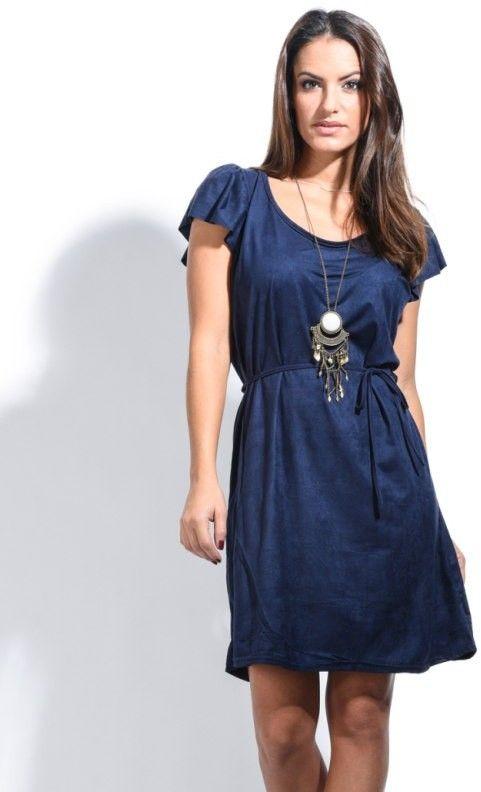 c777c6913015 Zaza Pata Paris Dámske šaty ZAZAT 0037 BLEU NUIT značky Zaza Pata ...