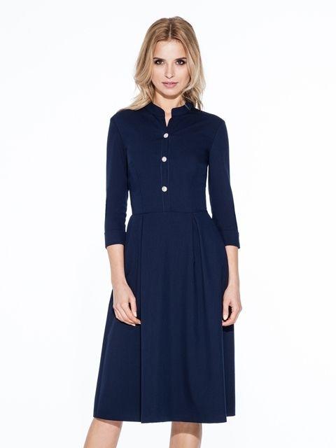 e4939e9ccd94 Misebla Dámske šaty MSU0094 navy blue značky Misebla - Lovely.sk