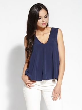 Dursi Dámsky top Blouse 073 NAVY