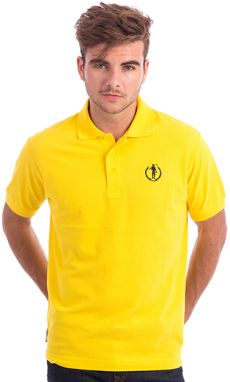 Polo Club Captain Horse Academy Pánske polo tričko 19763 AMARILLO / YELLOW
