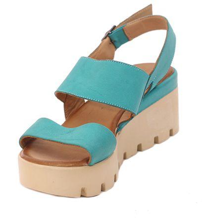 4dbb9c284a2a Parione Dámske sandále na vysokej podrážke PR132 značky Parione ...
