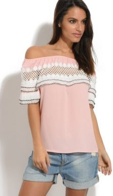 Parisienne Chic Dámsky top adid ROSE