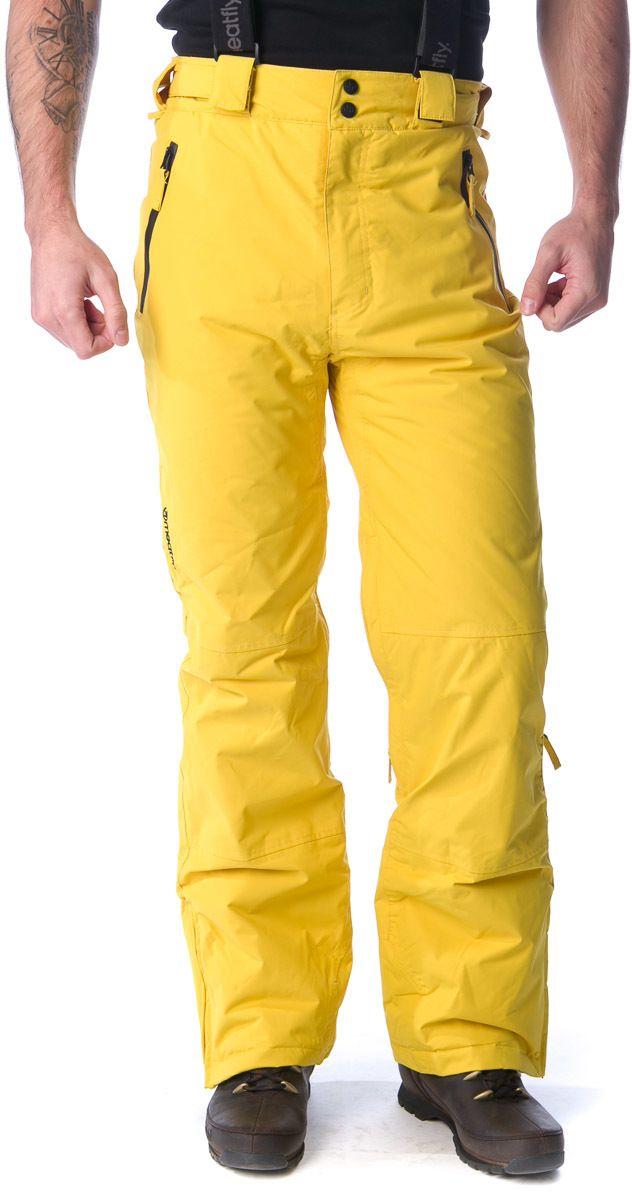f0164e6773e2 MEATFLY Pánske snowboardové nohavice Ghost aw15 žltá značky Meatfly -  Lovely.sk