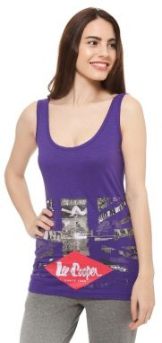 Lee Cooper Dámsky top LCW00068_VIOLET