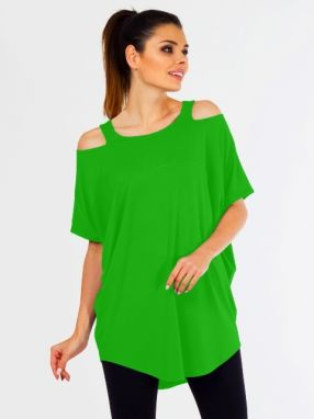 Lental Dámsky top TUNIC KASIA 1-4 GREEN