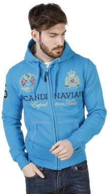 Geographical Norway Pánska mikina Gevin_man_turquoise