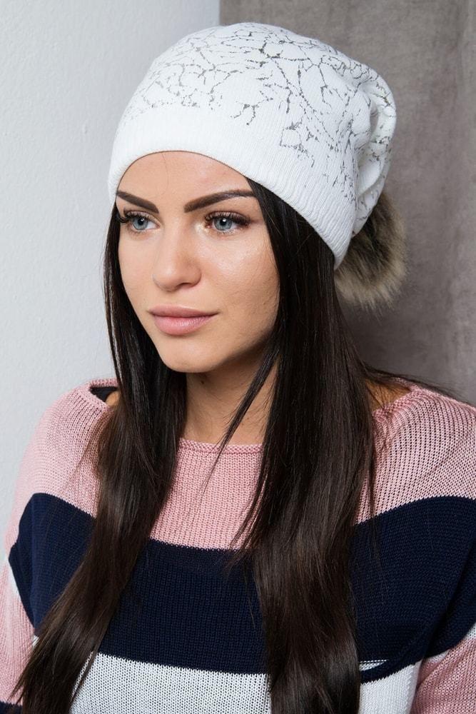 d930e6b36 Dámska zimná čiapka Kesi ks-ce102wh - Lovely.sk