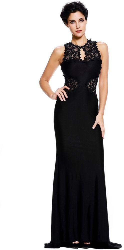 Dlhé večerné šaty DAMSON d-sat613bl - Lovely.sk d688a421c83