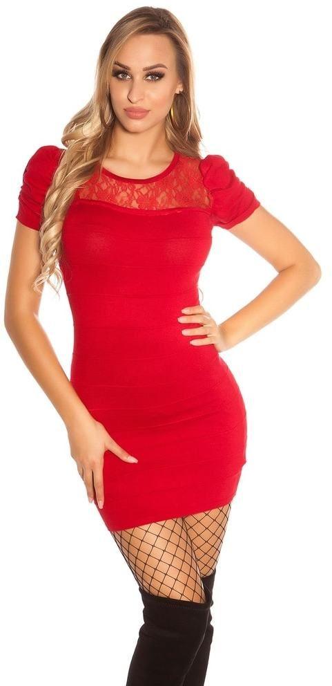 fddc7ea77cfe Dámske mini šaty z úpletu Koucla in-sat1688bo - Lovely.sk