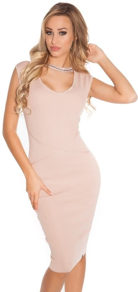 Elegantné úpletové šaty Koucla in-sat1581spi - Lovely.sk 55a4d89af5f