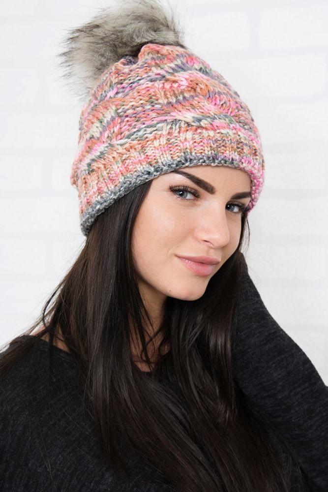 a228b769f Zimná dámska čiapka Kesi ks-ce106spi - Lovely.sk