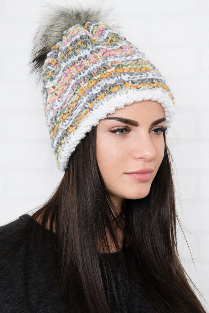 2b2353862 Zimná dámska čiapka Kesi ks-ce01wh - Lovely.sk