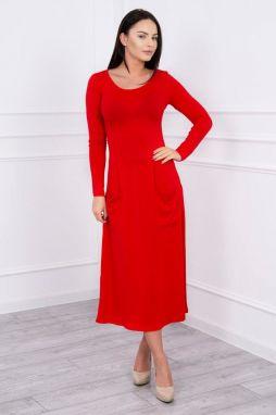 6f2efa17439 Společenské dámské šaty Ptakmoda pt-sa101re - Lovely.sk