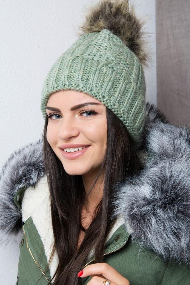 79e24e9b4 Zimná dámska čiapka Kesi ks-k103ze - Lovely.sk