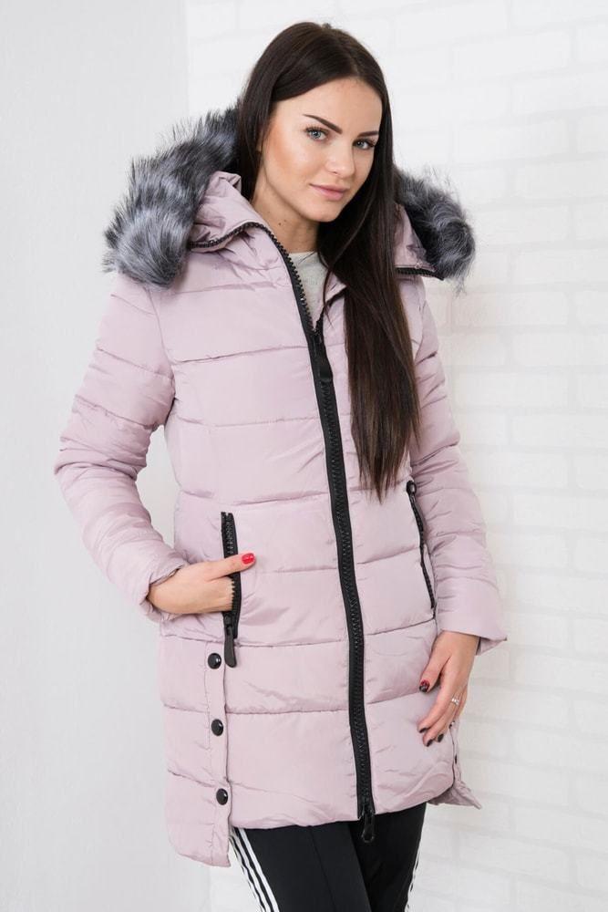 50d780d2fd Dámska zimná bunda s kapucňou Kesi ks-bu8806spi - Lovely.sk
