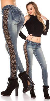 Dámské džíny s výšivkou Koucla in-ri1400 - Lovely.sk c576df6eed