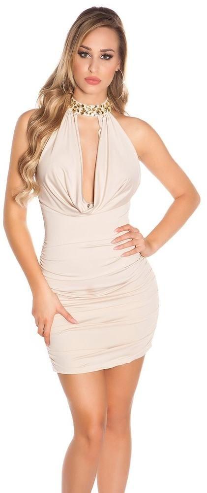 ab47fc86f375 Dámské sexy šaty Koucla in-sat1037be - Lovely.sk