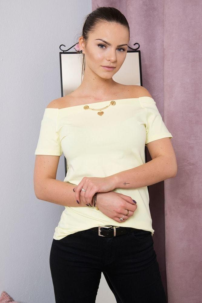Dámské elegantní tričko Kesi ks-tr51774sge - Lovely.sk a219c67a9c