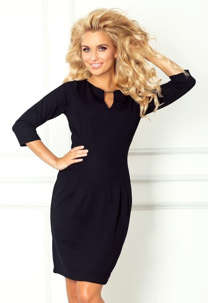 Dámske čierne elegantné šaty 68-3 Numoco nm-sat68bl - Lovely.sk 9a7ad6eb52f