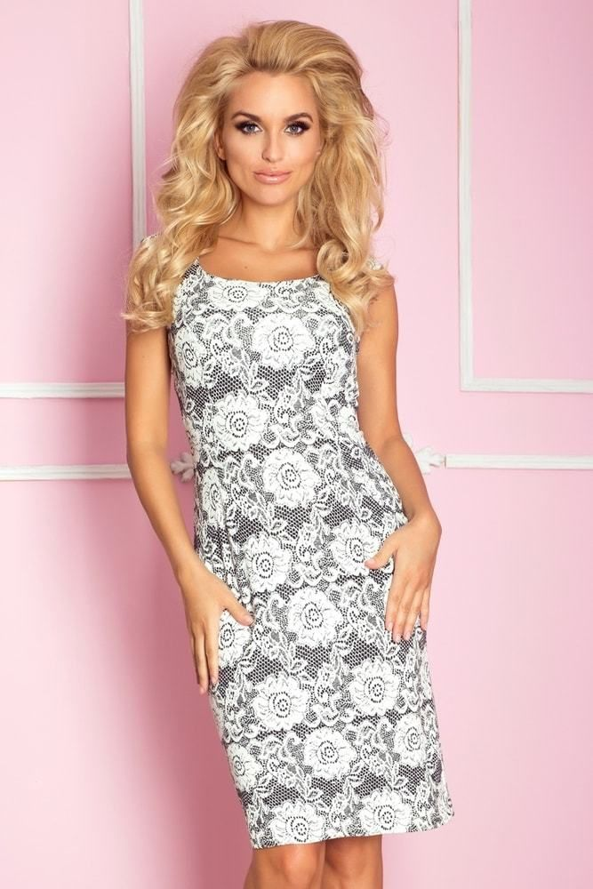 21fe41543edd Elegantné dámske šaty 53-7 Numoco nm-sat53-7 - Lovely.sk