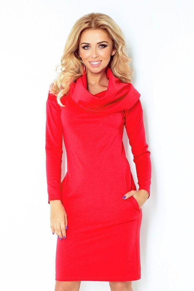 23350ed87ae9 Červené šaty dámske 131-4 Numoco nm-sat131re - Lovely.sk