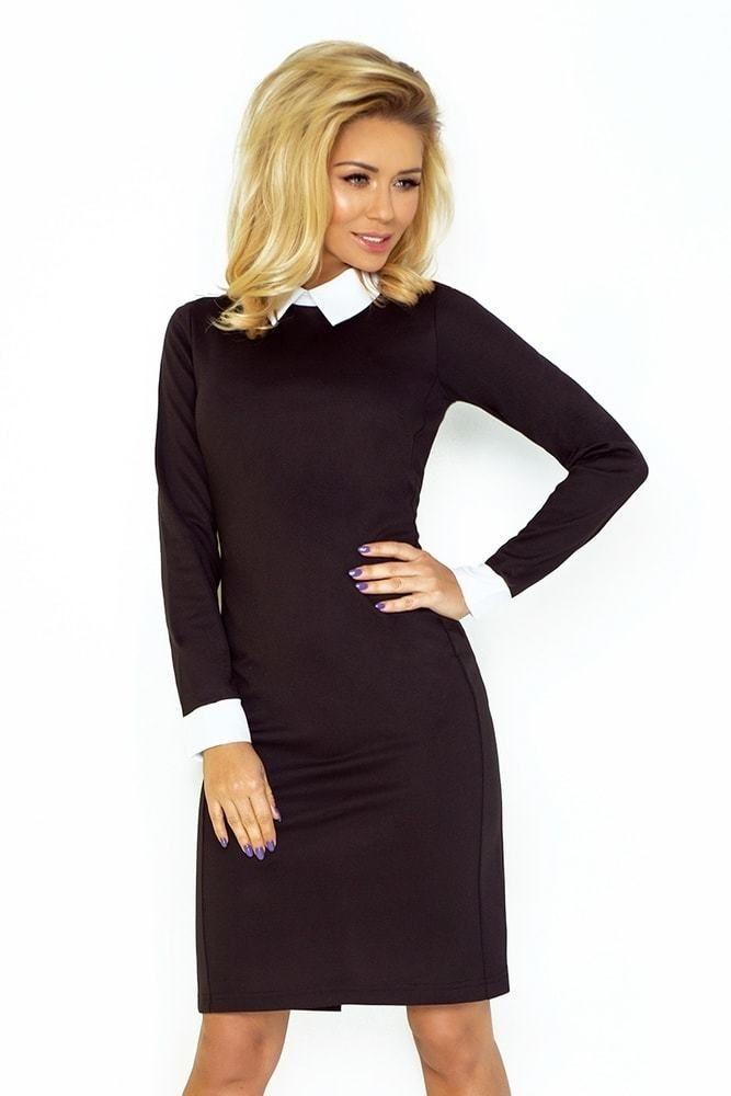 55a3ceb28d01 Dámské elegantní šaty 143-1 Numoco nm-sat143bl - Lovely.sk