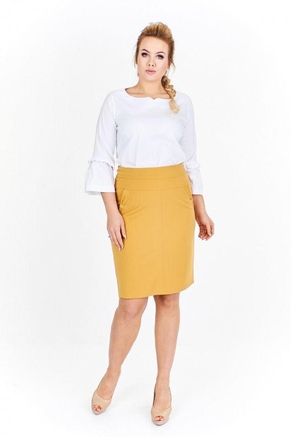 7c972cd002fa Dámská sukně plus size Ptakmoda pt-su1029ge - Lovely.sk
