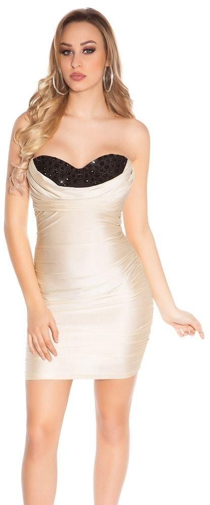 dcb060f2ac51 Dámske spoločenské mini šaty Koucla in-sat1875go - Lovely.sk