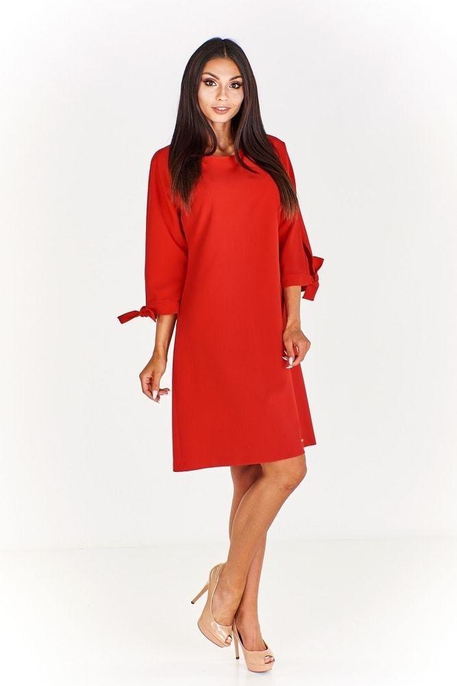 Červené pouzdrové šaty Ptakmoda pt-sat1670re - Lovely.sk 3cfd5f0fb1