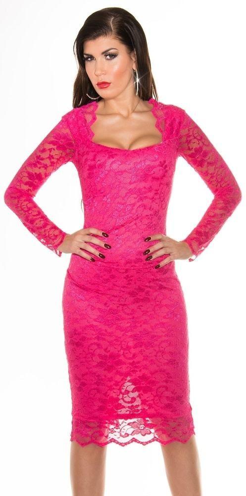 dc250de97fc8 Ružové večerné šaty Koucla in-sat1009pi - Lovely.sk