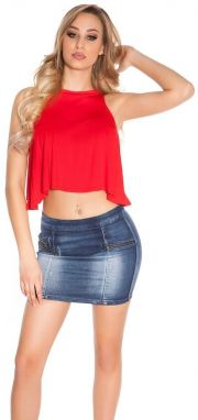 Dámsky crop top Koucla in-to1036re