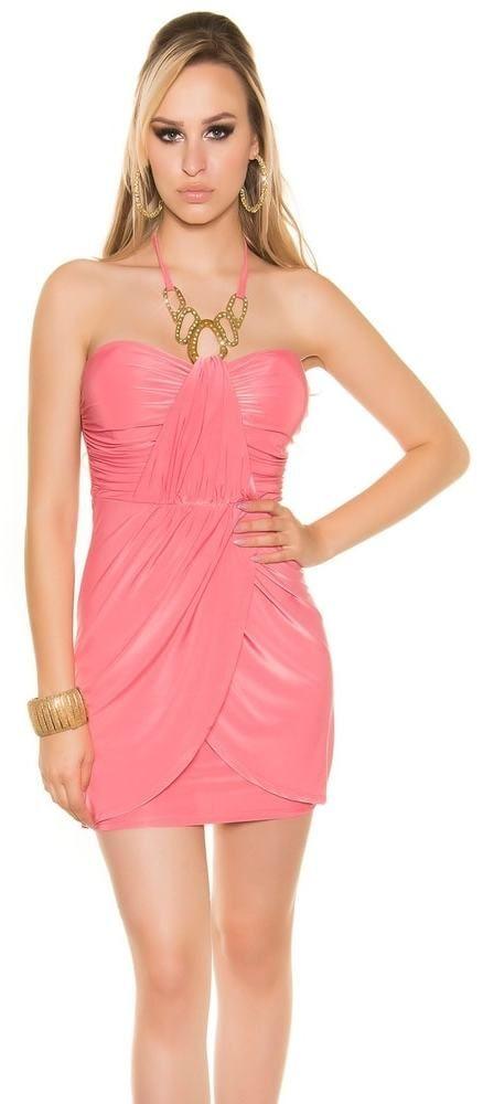 18026c6ee0e0 Dámske šaty so štrasovou ozdobou Koucla in-sat1143ko - Lovely.sk