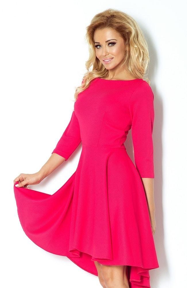 efe115613892 Dámske jednofarebné šaty 90-2 Numoco nm-sat90pi - Lovely.sk