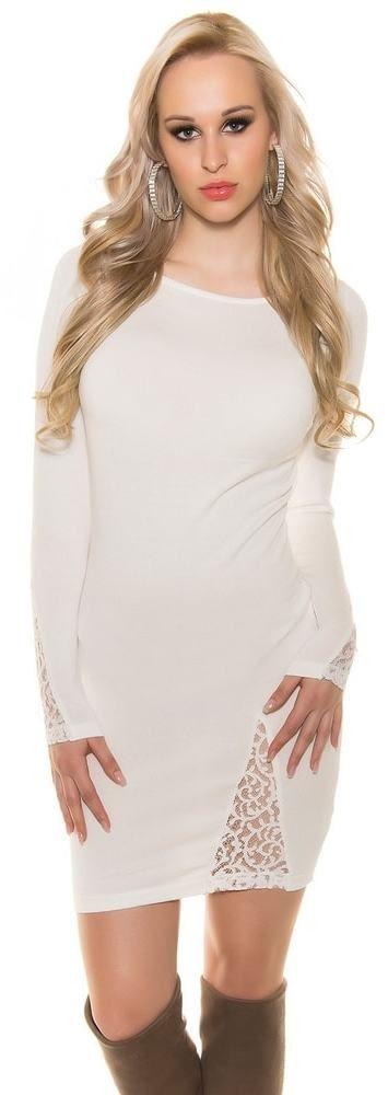 Elegantné úpletové šaty Koucla in-sv1353cr - Lovely.sk 798a487c51c