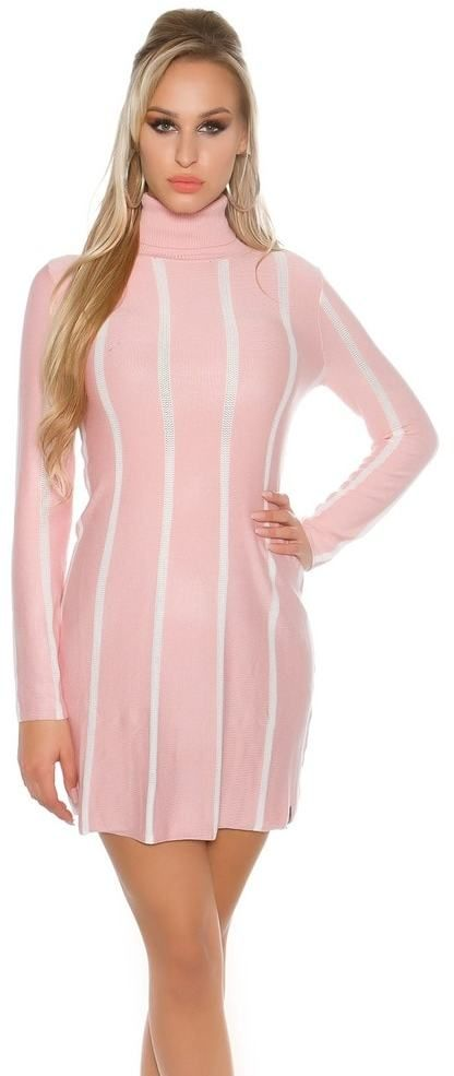 Elegantné úpletové šaty Koucla in-sat1450spi - Lovely.sk c4f2b6ed587