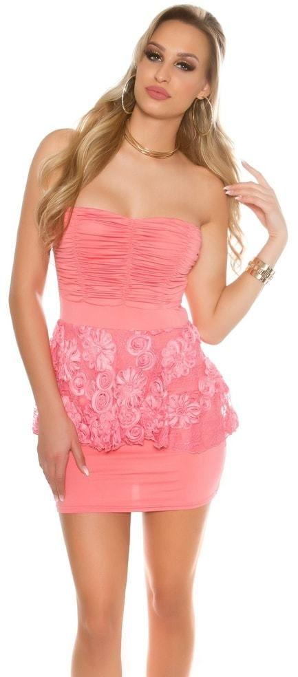 Spoločenské mini šaty Koucla in-sat1606ko - Lovely.sk db38ce4295f