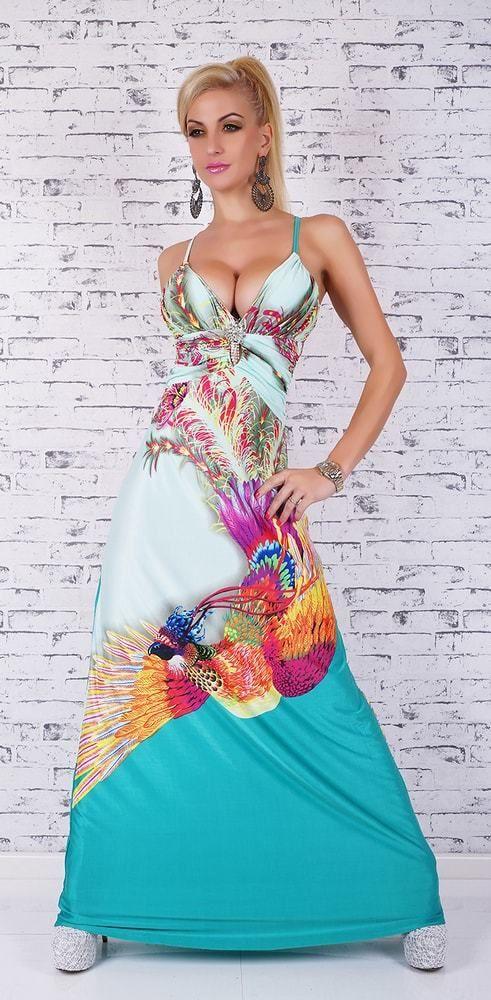 7138647eac6b Dámske dlhé letné šaty EU st-sa252 - Lovely.sk