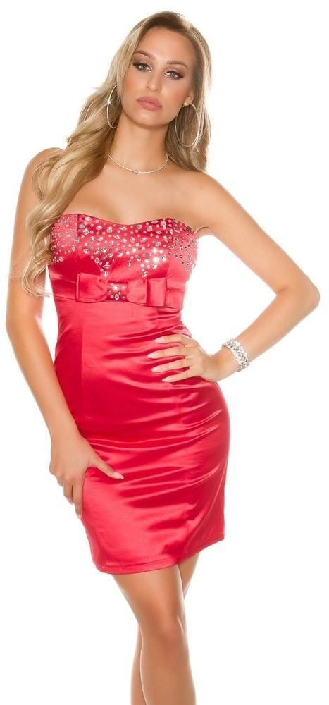 Červené dámske šaty Koucla in-sat1063re - Lovely.sk 9db5e11c9e2