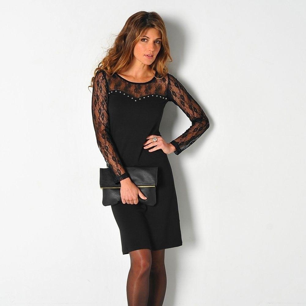 53c7c418c369 Blancheporte Čipkové šaty čierna 34 36 značky Blancheporte - Lovely.sk
