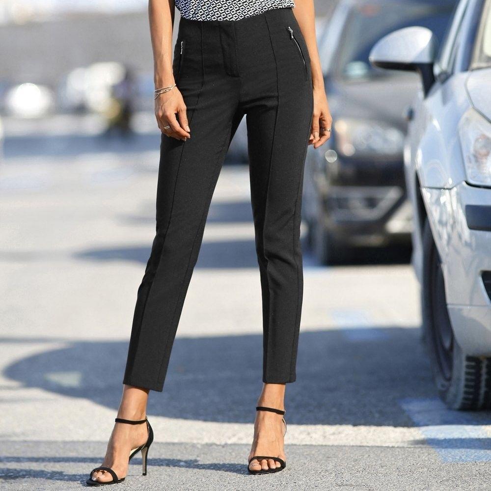 3a2af9529cfc Blancheporte 7 8 úzke nohavice čierna 36 značky Blancheporte - Lovely.sk