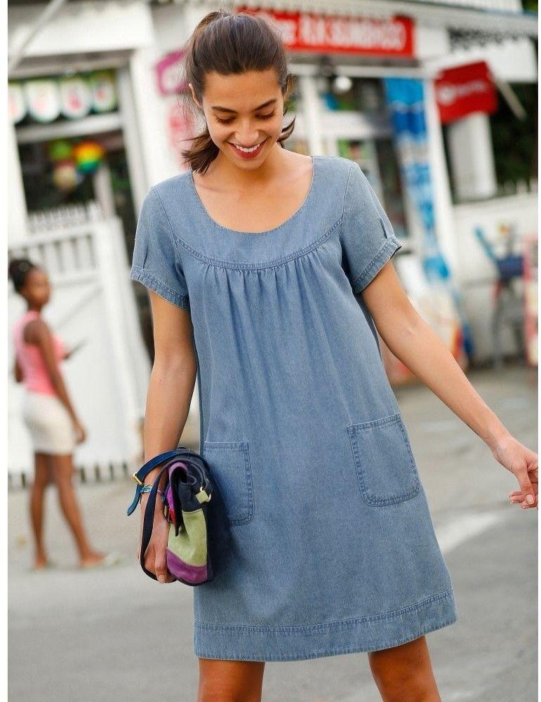 Blancheporte Džínsové šaty značky Blancheporte - Lovely.sk ea6c6be90dc