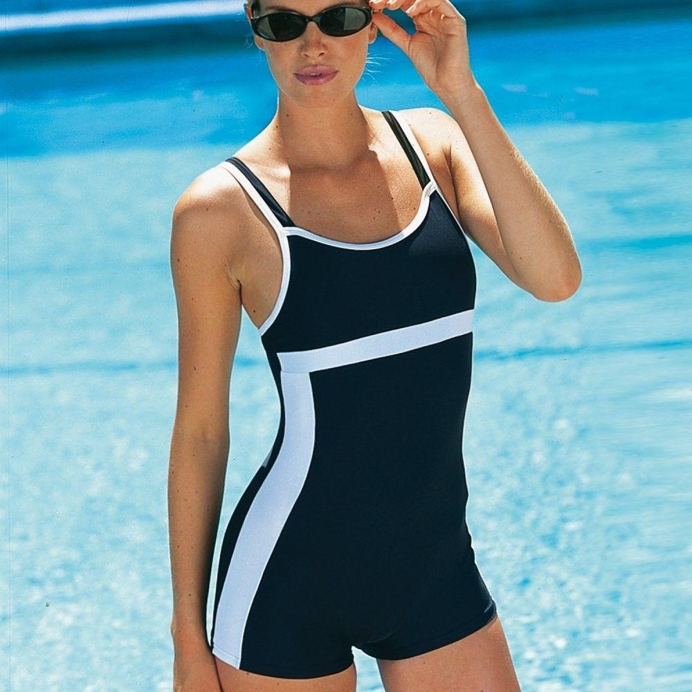 e99eb6a8e Blancheporte Jednodielne plavky s nohavičkami čierna/biela 38 značky  Blancheporte - Lovely.sk